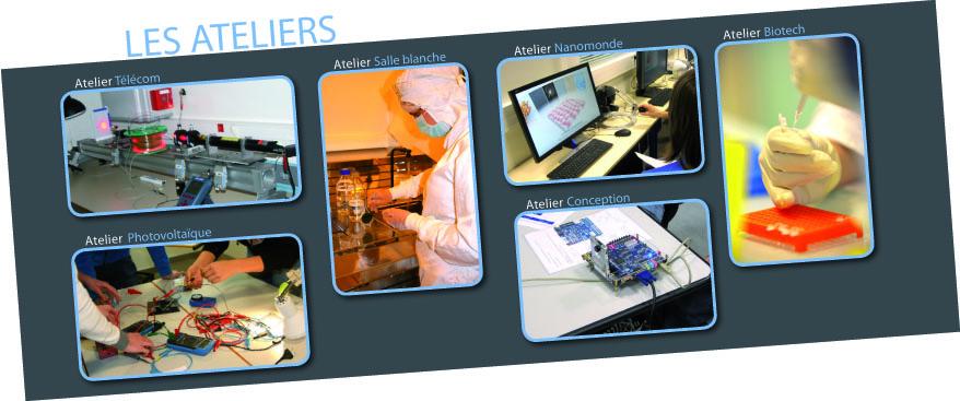 Les Ateliers Nano@School